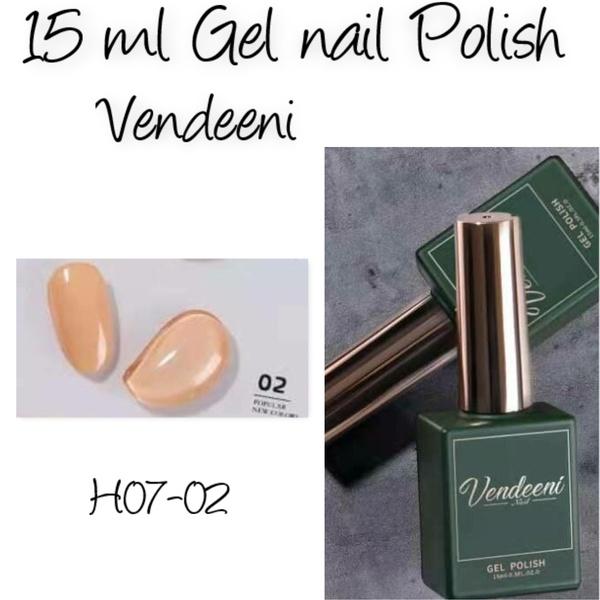 15 ml vendeeni uv/led gel nail polish  h07-02 picture