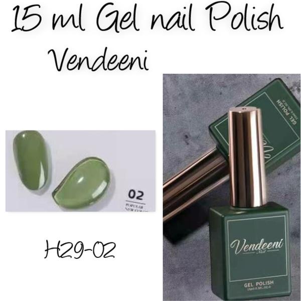 15 ml vendeeni uv/led gel nail polish  h29-02 picture