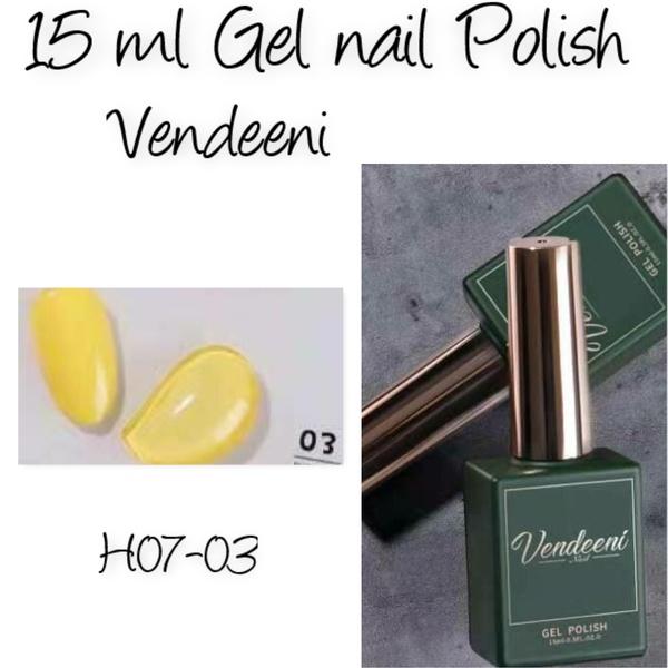 15 ml vendeeni uv/led gel nail polish  h07-03 picture