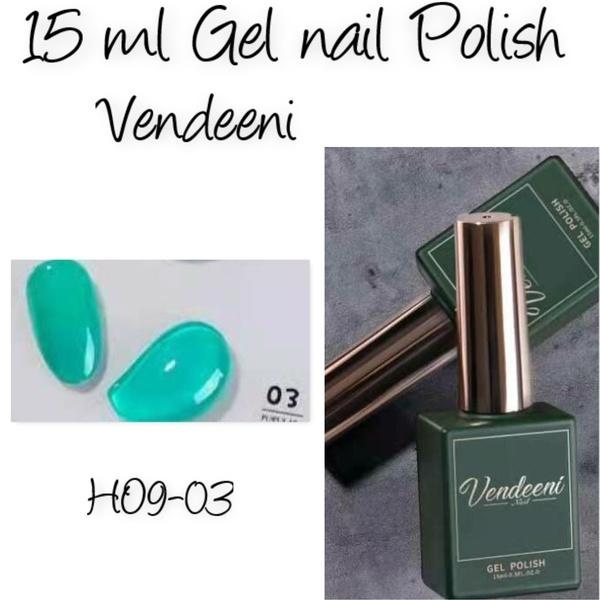 15 ml vendeeni uv/led gel nail polish  h09-03 picture