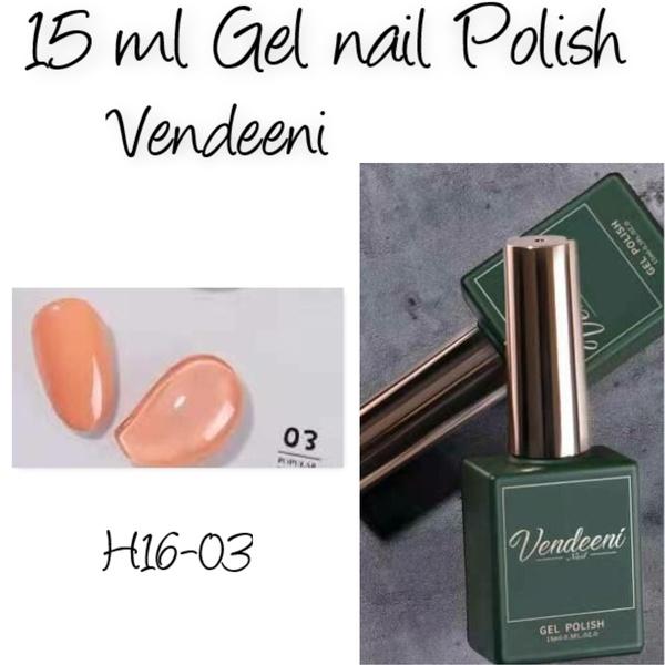 15 ml vendeeni uv/led gel nail polish  h16-03 picture