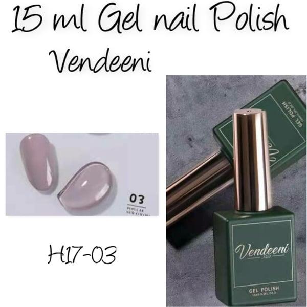 15 ml vendeeni uv/led gel polish - h17-03 picture