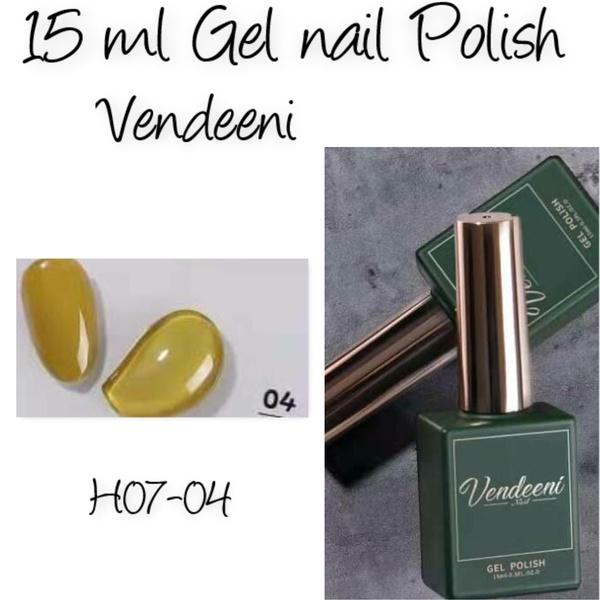 15 ml vendeeni uv/led gel nail polish  h07-04 picture
