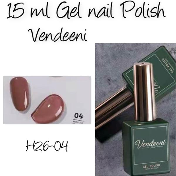 15 ml vendeeni uv/led gel nail polish  h26-04 picture