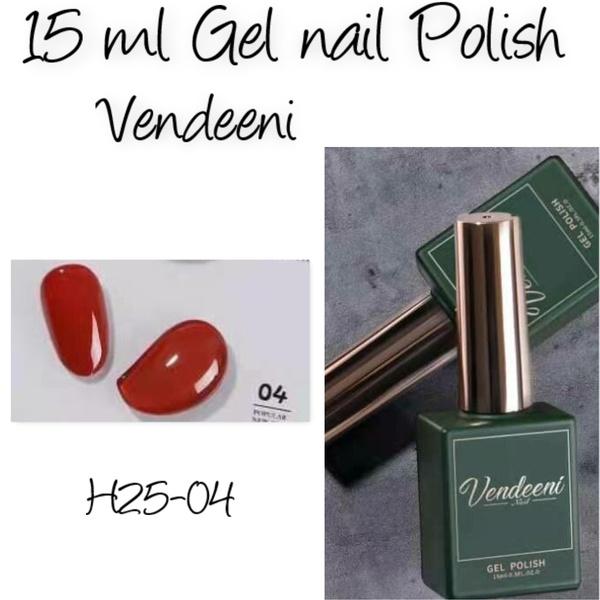 15 ml vendeeni uv/led gel nail polish  h25-04 picture