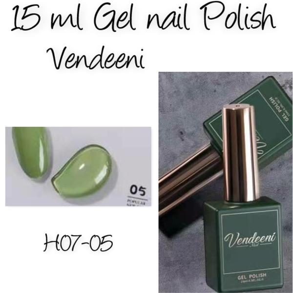 15 ml vendeeni uv/led gel nail polish  h07-05 picture