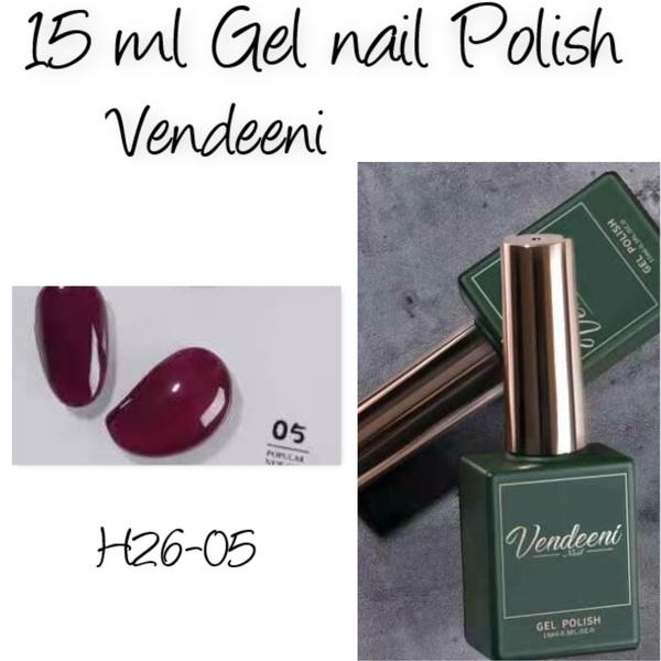 15 ml vendeeni uv/led gel nail polish  h26-05 picture