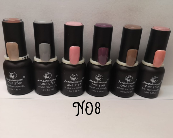 Fengshangmei one step gel polish bottle per pack num 8 picture