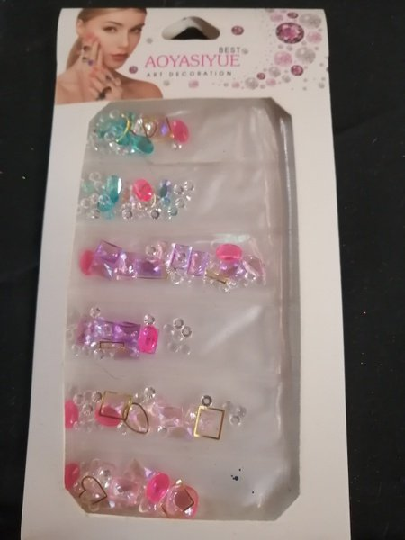 Nail art charms mix picture