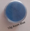 10 g azure blue dipping powder picture