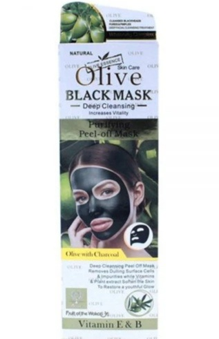 130 ml olive blackmask deep cleansing peel off mask picture