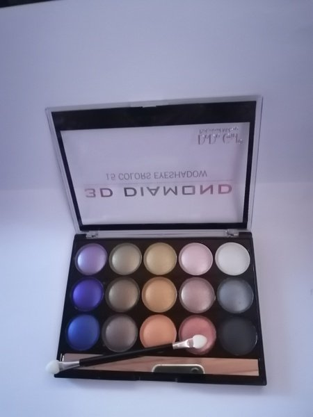 15 colors eyeshadow 3 d diamond 02 picture
