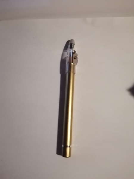 Thick eyeliner pencil gold picture
