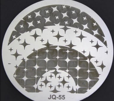 Round stamping plates jq55 picture