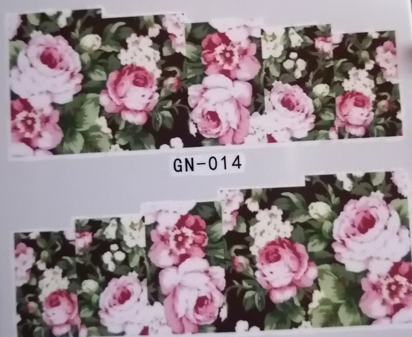 Water transfer / nail art sticker - gn014 picture