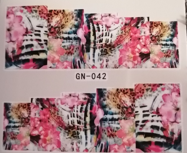 Water transfer / nail art sticker - gn042 picture