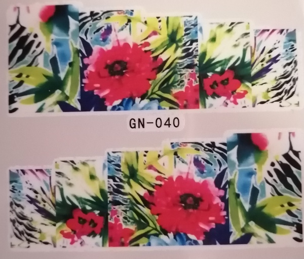 Water transfer / nail art sticker - gn040 picture