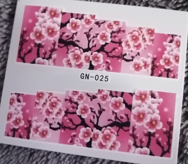 Water transfer / nail art sticker - gn025 picture