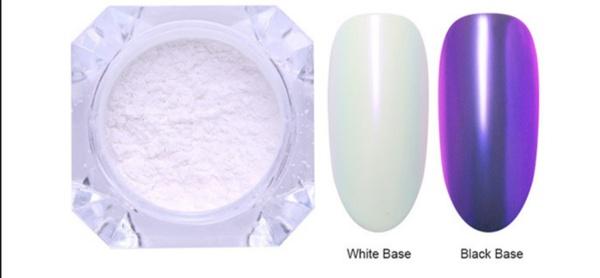 Born pretty chrome powder-purple picture