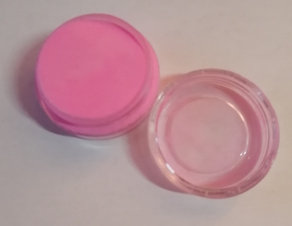 5 g pink acrylic powder picture