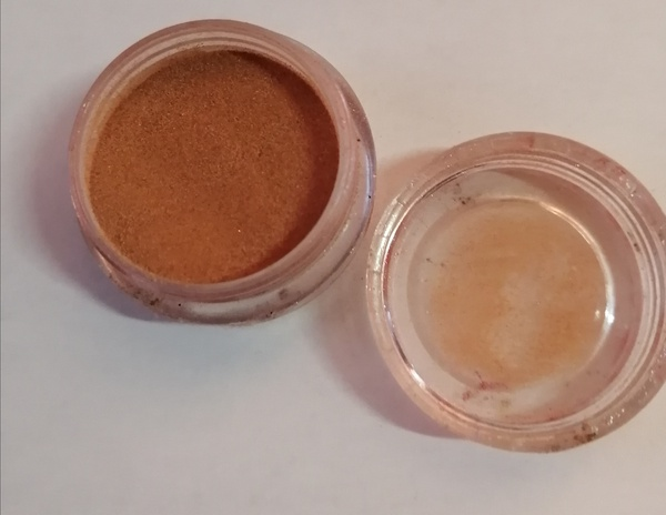 5 g light brown acrylic powder picture