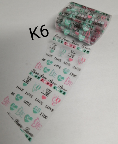 1 m nail foil k6 picture