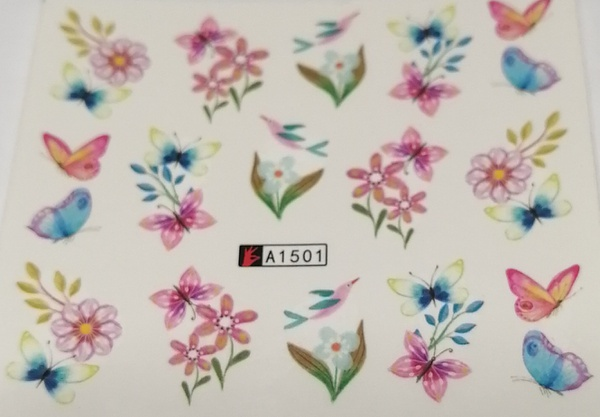 10 pcs water transfer sticker b125 picture