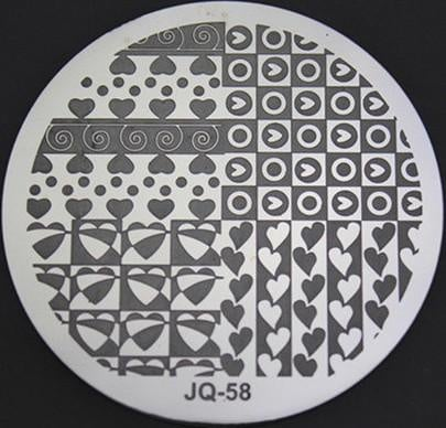 Round stamping plates jq58/om08 picture