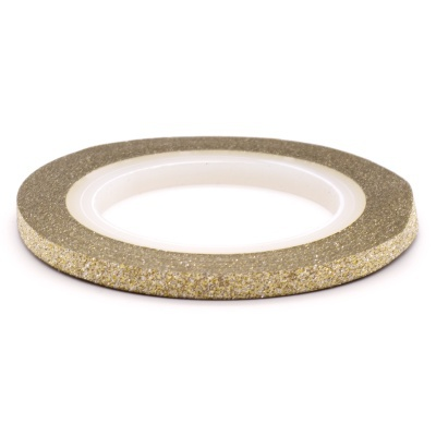 Striping glitter role & wave striping role - light gold picture