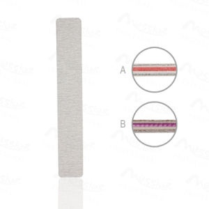 Rhombus grey nail file picture
