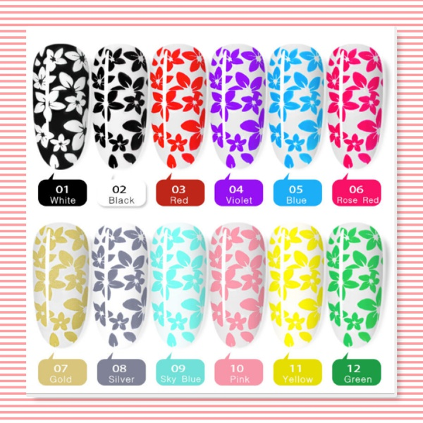 8 ml stamping gel picture