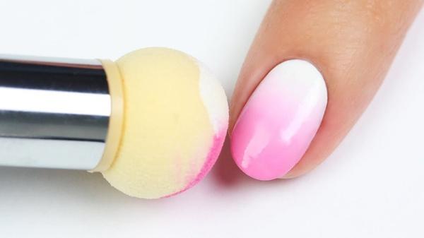 Gem ombré sponge nail tool set + 4 extra sponge picture