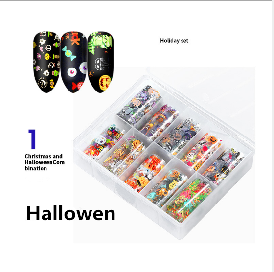 Halloween & christmas foil paper -h1 picture