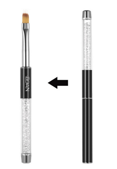 Ombre brush black handle picture