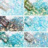 24 x10g angel chunky glitter set picture