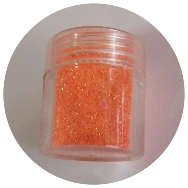 8 g fine glitter orange picture