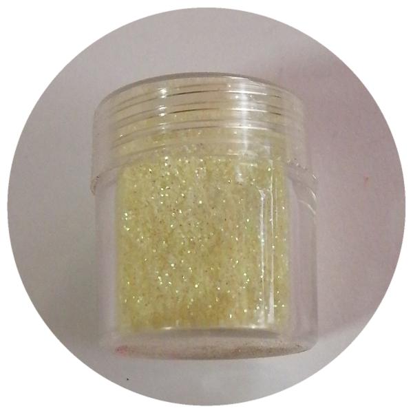 8 g fine glitter yellow picture