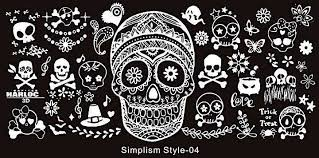 Image stamping plate - s-style 04 picture