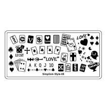 Image stamping plate - s-style 08 picture