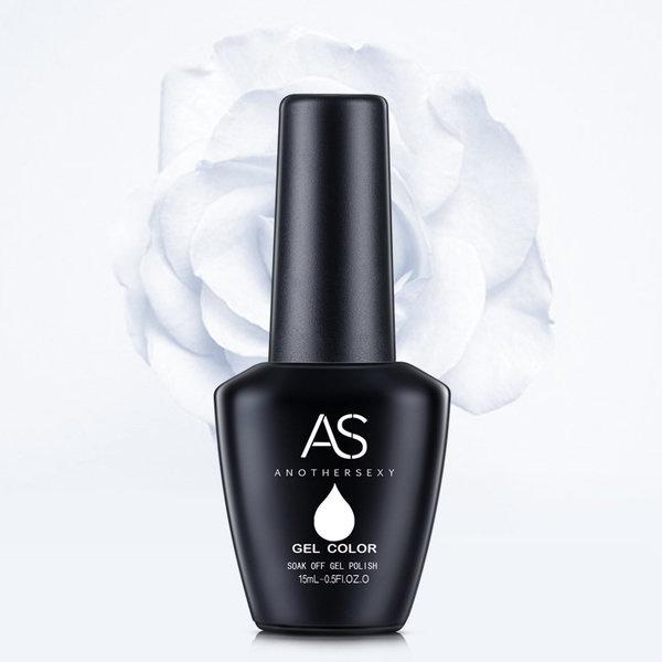 As 15 ml uv/led gel nail polish white picture