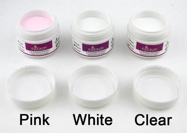 8 g acrylic powder-white picture