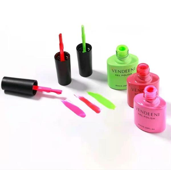3 x 8 ml vendeeni gel nail polish set no 1 picture