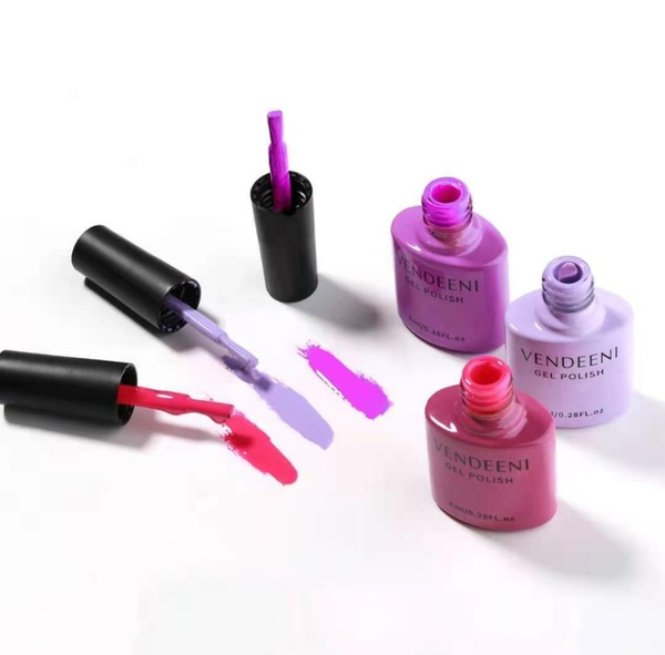 3 x 8 ml vendeeni gel nail polish set no 3 picture