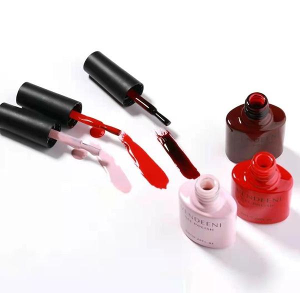 3 x 8 ml vendeeni gel nail polish set no 7 picture