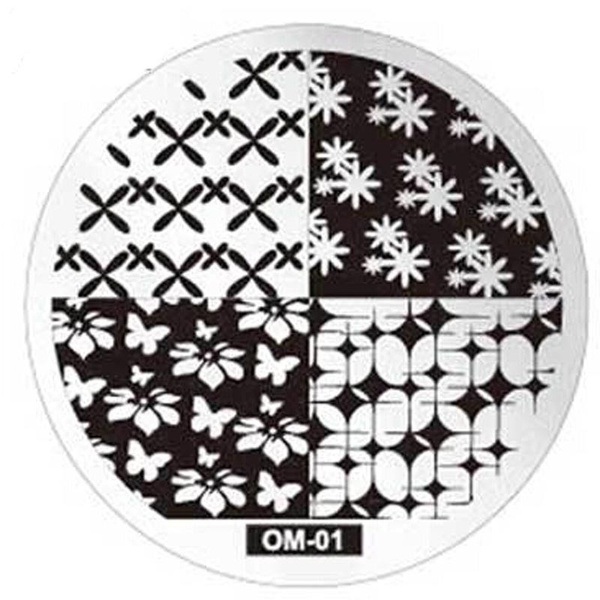 Round stamping plates om01 picture