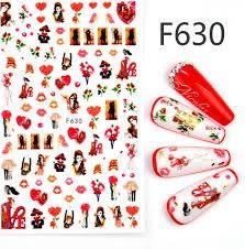 Nail sticker - f630 picture