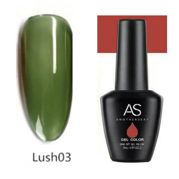 15 ml as uv led gel polish lust series no 3 picture