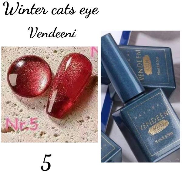 15 ml vendeeni winter cats eye gel nail polish no 5 picture