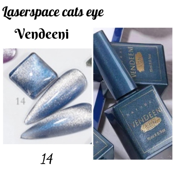 15 ml vendeeni laserspace cats eye gel nail polish no 14 picture
