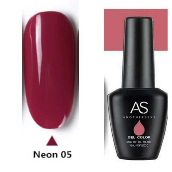 15 ml as gel polish neon series no 5 picture